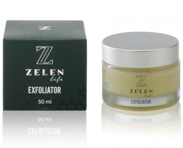 exfoliator zelen life