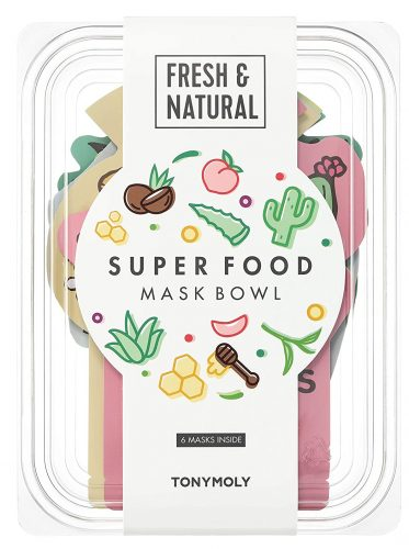 TONYMOLY Super Food Mask Bowl (6 masks)