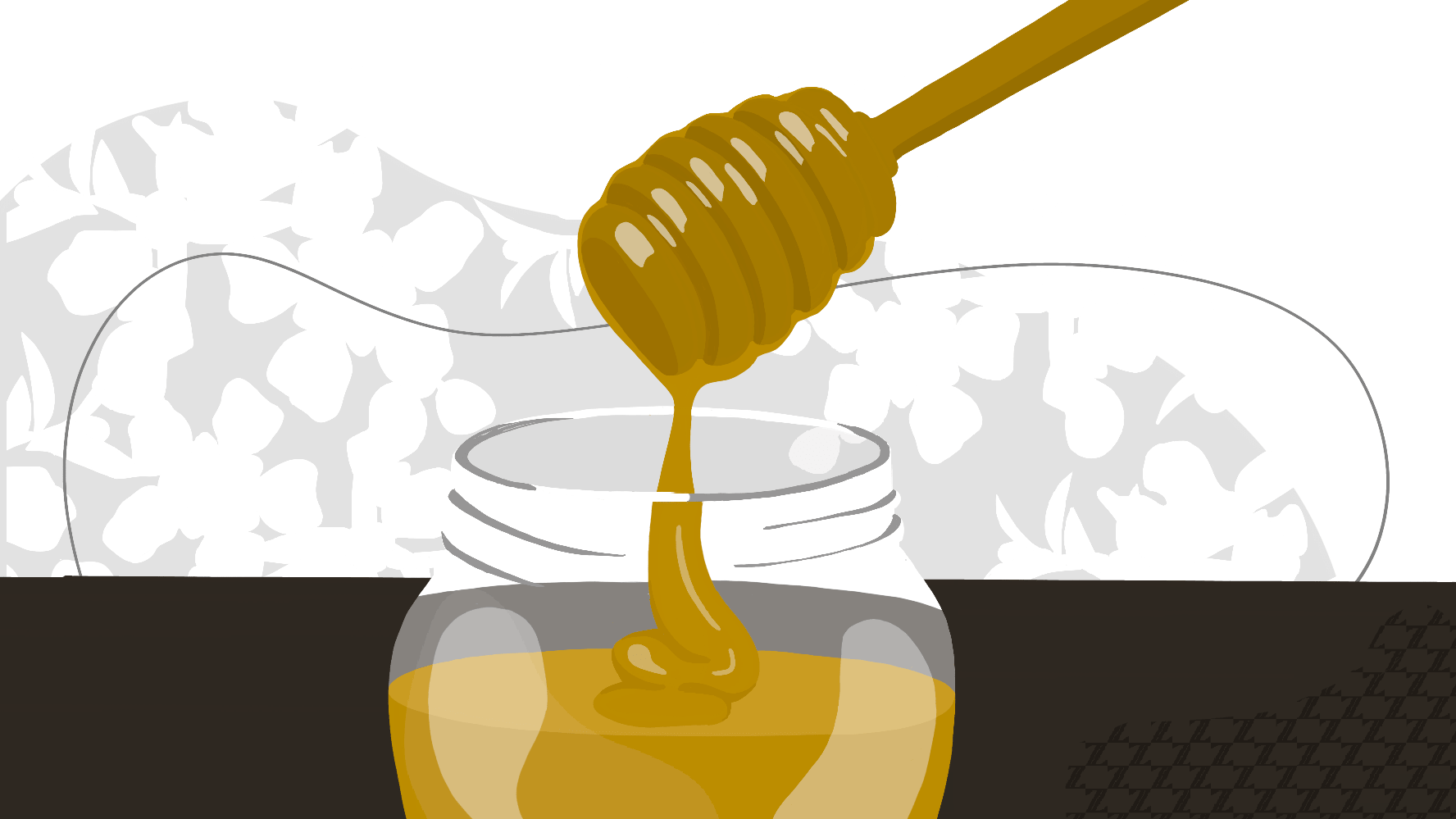 Use honey as a facemask