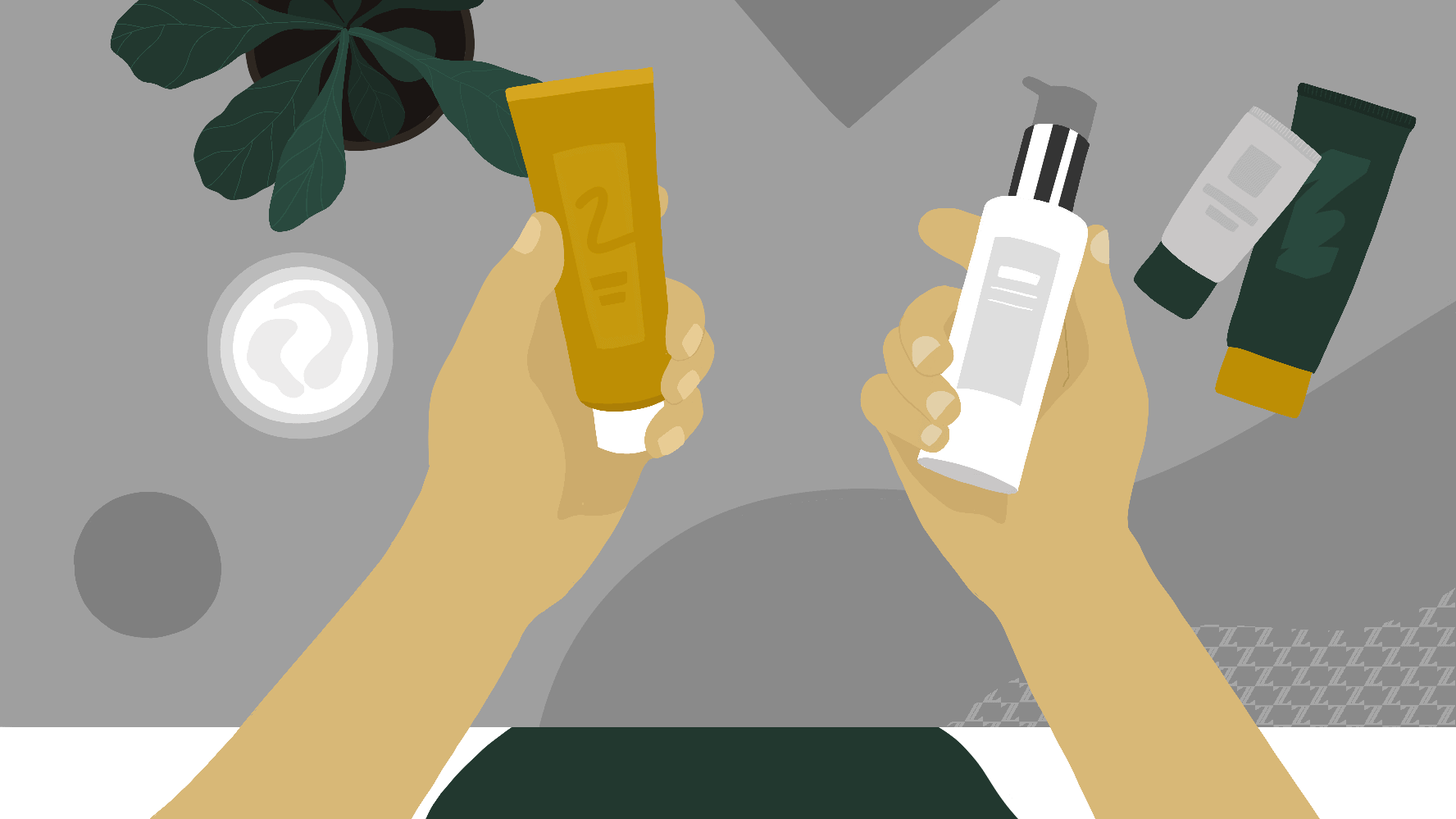 Types of cleansers and washes you can use on your face