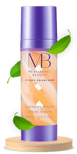 Meaningful Beauty Crème de Serum, Melon Extract Night Moisturizer
