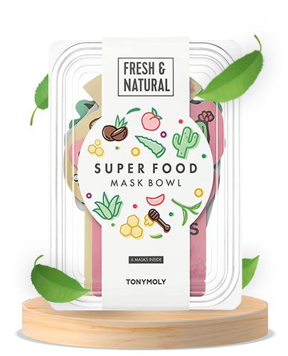 TONYMOLY Super Food Mask Bowl (6 masks)