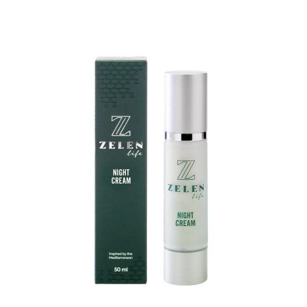 ZELEN Life anti aging night cream