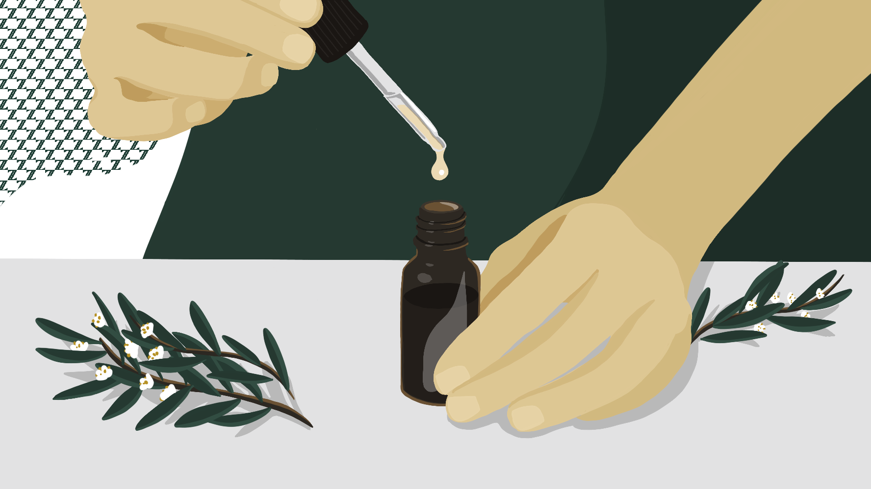 Use Tea Tree Oil to kill that zit