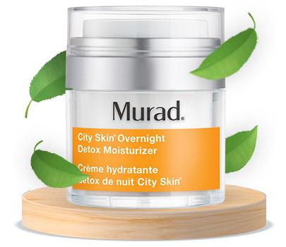 Murad City Skin Overnight Detox Moisturizer - Vitamin C Night Cream