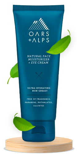 Oars + Alps Daily Natural Face Moisturizer and Eye Cream