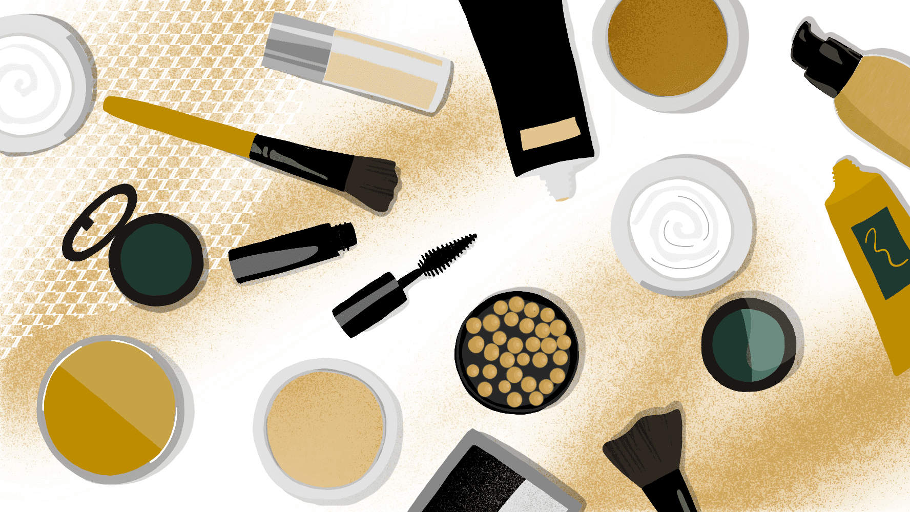 Makeup is just a dessert to the sunscreen's main course