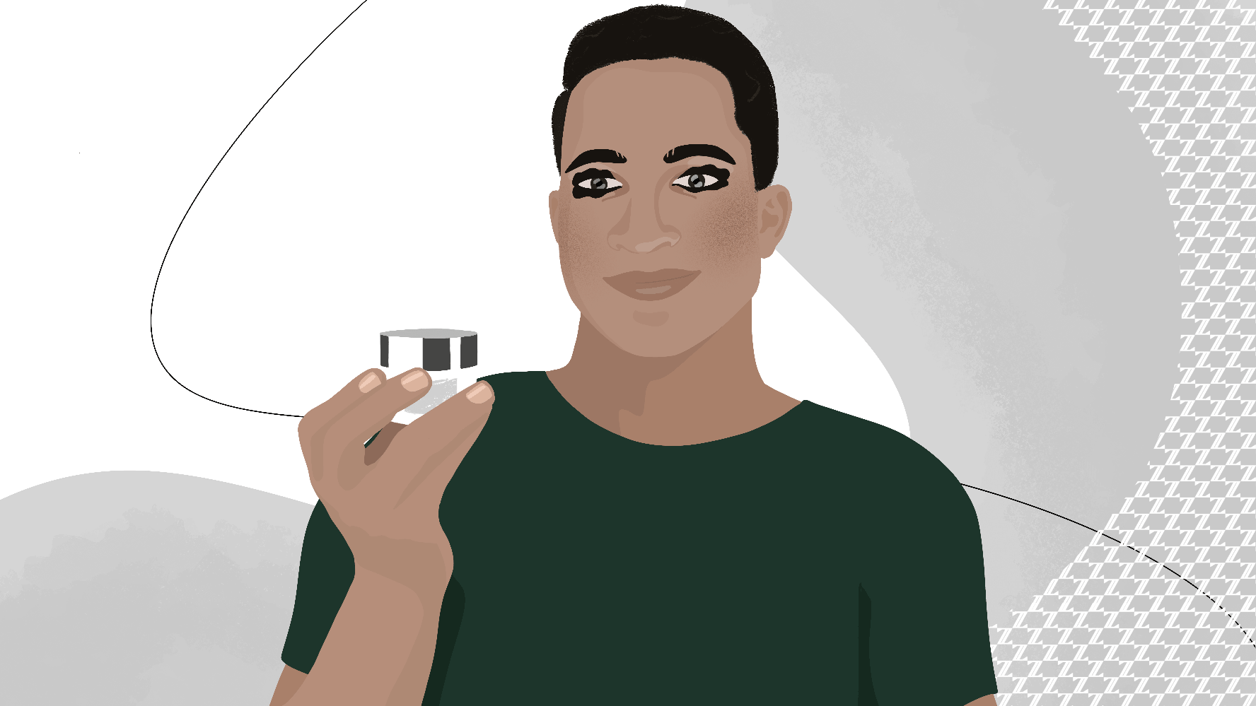Products that address men's skin characteristics