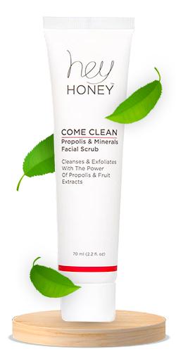 Hey Honey Come Clean Propolis & Minerals Facial Scrub