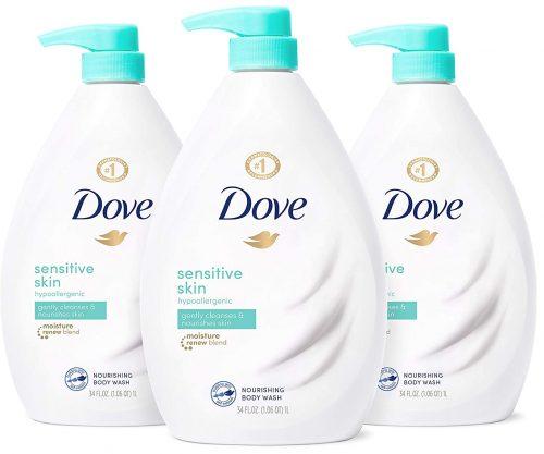 Dove for Sensitive Skin (liquid)