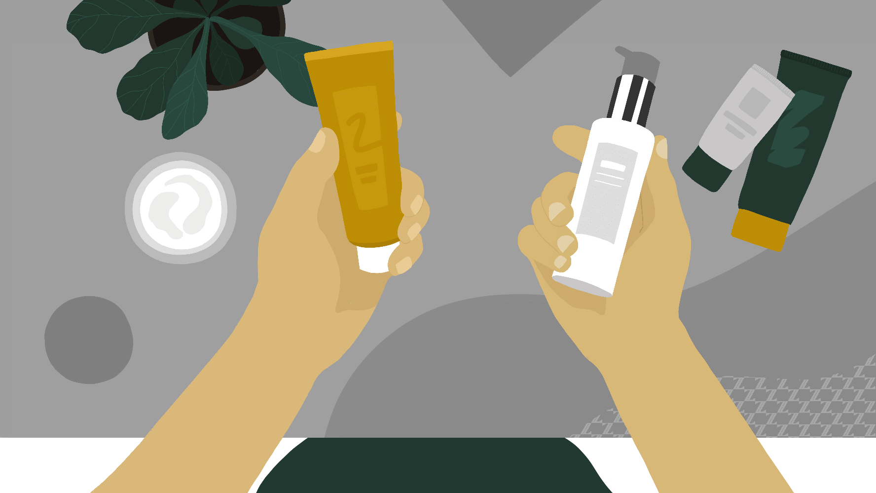 What are the different types of moisturizers?