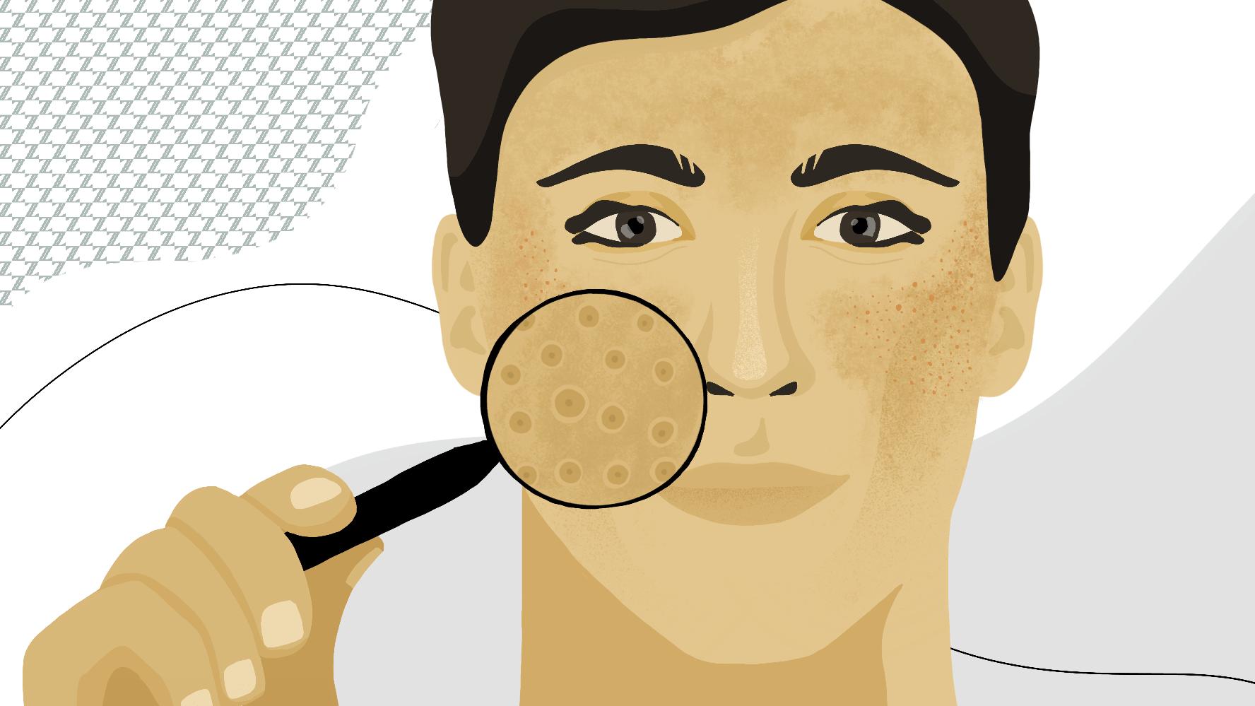 shrink pores naturally