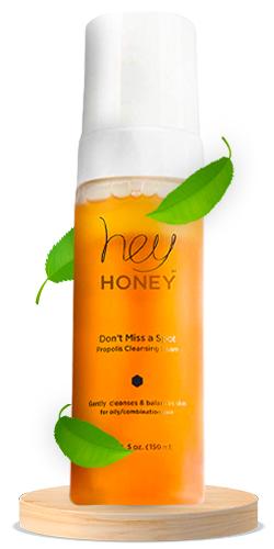 Hey Honey Don't Miss A Spot Fresh Honey Cleansing Foam