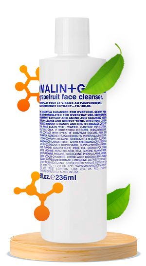 Malin + Goetz Face Cleanser, Grapefruit