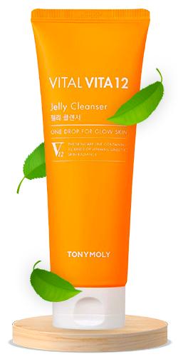 TONYMOLY Vital Vita 12 Jelly Cleanser